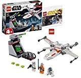Star Wars Lego 75235 X-Wing Starfighter Trench Run + Lego 30381 Imperial Tie Fighter Polybag