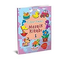Eğlenceli Çıkartmalı Mozaik Kitabı Seti 4 Kitap Takım