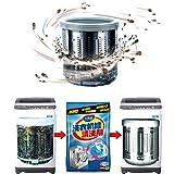 Todaytop 10 STÜCKE Professionelle Waschmaschine Reiniger für effektive Dekontaminierung Waschmaschine Tank Reinigungsmittel Tasche für alle Waschmaschinen