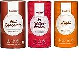 Xucker - Gelierzucker (1 kg), Light (1 kg) und Hot Chocolate (750 g) 3er Mix