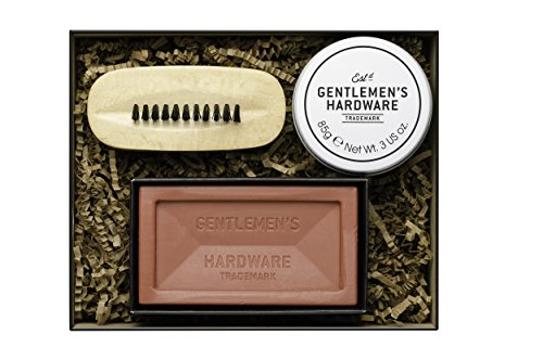 Gentlemen 's Hardware Herren Hand Care Kit - Schwarz -