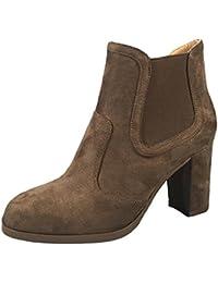 Martin Boots Botines Botas Zapatos JK300319 Moda Botas de Tacón Alto Antideslizante Impermeable Moda Mujer,GJDE