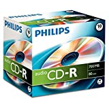 Philips CDR 80min 700MB Audio 10Pack CD-Rohlinge