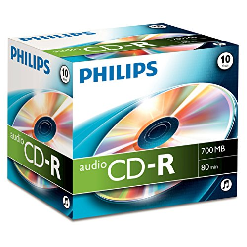 Philips CDR 80min 700MB Audio 10Pack CD-Rohlinge Blank Audio