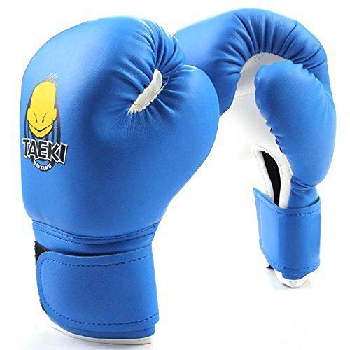 wildlead Boxhandschuhe, Kinder Handschuhe Sanda Knuckles Sandbags Taschen-Spielen Sand Kind Erwachsene Muay Thai Kickboxing Männer Kampf blau (Boxhandschuhe Spielen)