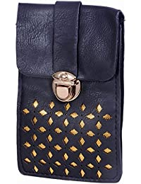 Ratash Golden Cut Work Sling Bag Black (Hbd_49_50_51_14)