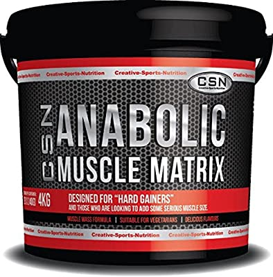 CSN Anabolic Muscle Matrix 4kg All In One Chocolate from CSN