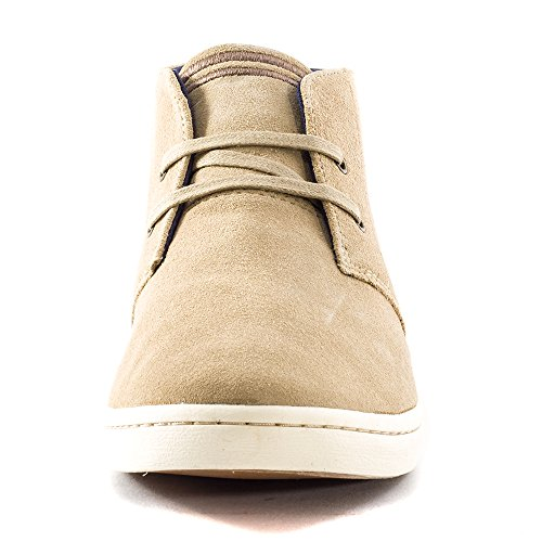 Fred Perry Byron Mid Suede Sand Beige