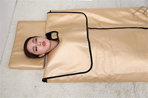Stein Negative Ionen Physiotherapie Gesundheit Khan Dampfer Decke, Entgiftung Schönheit Gewicht Verlieren Lipolyse Sauna Pad (Dampf-infrarot-sauna)