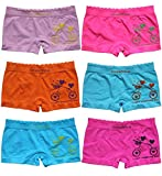 Palleon 6er Pack sportliche Mädchen Pantys Hipster Shorts Kinder Slips 128-140 / mehr