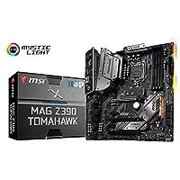 MSI MAG Z390 TOMAHAWK LGA 1151 Intel Core 9th/ 8th Gen Intel Core, Intel Z390 Chipset, Onboard Video Chipset, HDMI SATA 6Gb/s, USB 3.1, ATX Intel Motherboard   911-7B18-001 - 911-7B18-007 PC