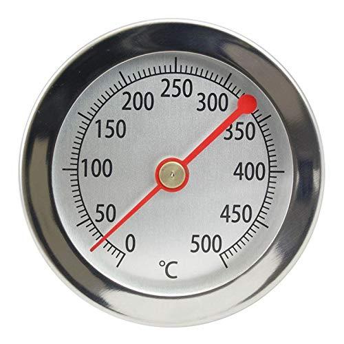 Lantelme 2840 Termometro per Forno, Forno a Legna, Forno per Pizza/Analogico / 500 °C