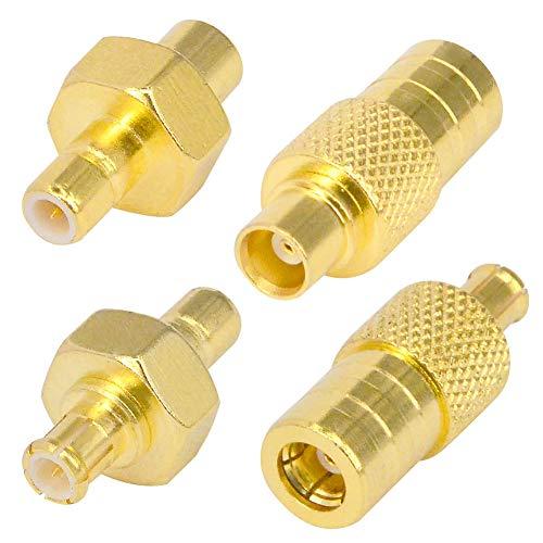 SMB Kit Stecker RF Connector Adapter MCX auf SMB männlich weiblich Koax Radio Adapter XM Sirius Antenne Verlängerung (Sirius-radio-auto-adapter)