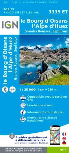 3335ET BOURG D'OISAN L'ALPE D'HUEZ GRANDES ROUSSES par Collectif