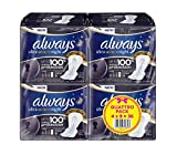 Always Ultra Secure Night Serviette Hygiénique avec Ailettes Quattro Pack