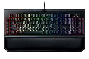 Razer Blackwidow Chroma V2 Taktile & Klickende Mechanische Gaming Tastatur Green Switches, RGB Beleuchtet & Voll programmbierbar mit 5 Macrotasten