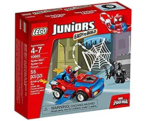 LEGO Juniors - 10665 - Jeu De Construction - Spiderman