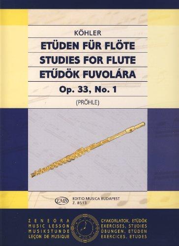 kohler-e-estudios-op33-vol1-para-flauta-prohle
