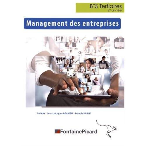 Management des entreprises BTS Tertiaires 2e année