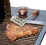 Grillfleisch Branding Iron Grill Veränderbare Letters Persönlichkeit Steak Braten von Fleisch Grill BBQWerkzeug Austauschbare 55 Letters