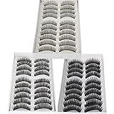 30 Paar Natural & Regular lange falsche Wimpern Wimpern von