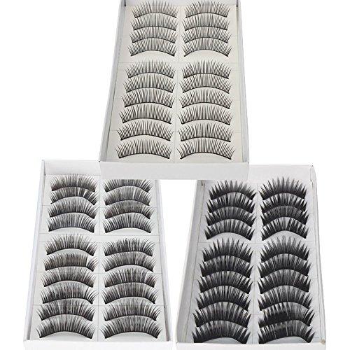 gular lange falsche Wimpern Wimpern von Boolavard ® TM ()