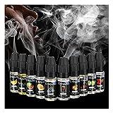 Creti Premium E-Liquid für E-Zigarette aus PG und VG ohne Nikotin mit Fruchtgeschmack | Apfel, Banane, Blaubeere, Erdbeere, Orange, Traube, Wassermelone, Kirsche, Melone, Cola | 10*10ml