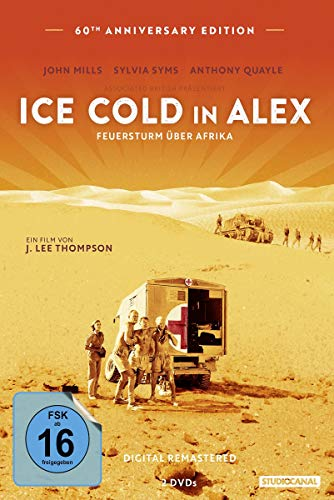 Ice Cold in Alex - Feuersturm über Afrika (60th Anniversary Edition) [2 DVDs]