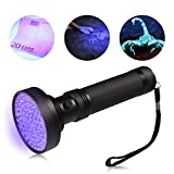 Ledgle LED UV torcia UV Beast Pet urina Finder Stain detector nero luci torcia, 100 LED perline, con cordino …