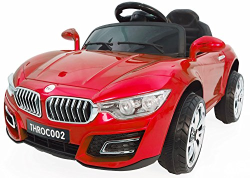 Toyhouse Avenger Luxurious Rechargeable Battery Operated Ride-on Swing function Car with Remote for Kids(2 to 4 yrs), Red