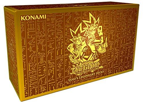 Konami - Yugi's Legendary Decks - Sammelbox Trading Card Game - Dark Yu-gi-oh-karte Magician