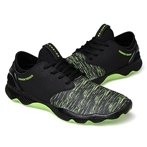 Men's Culture Lace Up Breathable PU Fabric Shoes 3