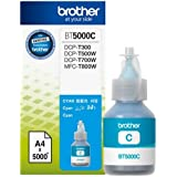 Brother BT5000C Genuine Ink Bottle Cyan colour For T300,T500,T700W,T800W Printers