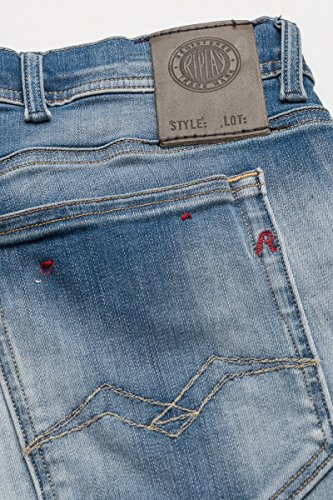 Replay Herren Jeans Blau (Blue Denim 10)