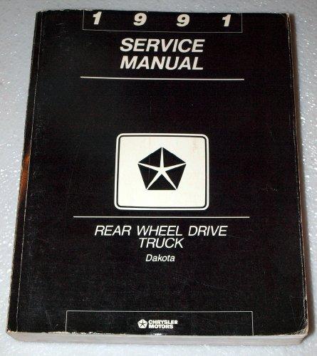 1991-dodge-dakota-factory-service-manual-rear-wheel-drive-truck-complete-volume