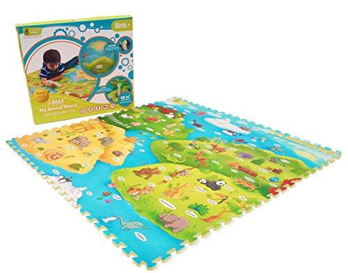 Creative Baby i-Mat My Animal World Tapis de Jeu Doux Éducatif