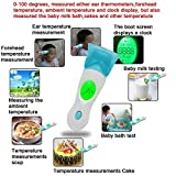 Mcp Digital 8 In 1 Automatic Infrared Non Contact Laser Forehead /Ear Thermometer