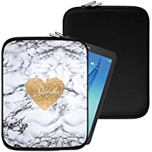 """Personalised Marble Neoprene Tablet Sleeve Bag Case -(91)- Acer Aspire Switch 10 E (SW3-013) (10.1"""")"""