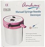Amkay Manual Syringe Needle Destroyer (h...