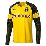 Puma Herren BVB LS Home Shirt Replica Evonik with Opel Logo Trikot, Cyber Yellow, XL