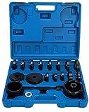 FreeTec–23tlg. Cilindro de Almacenamiento de Herramientas Extractor de Rueda Extractor...