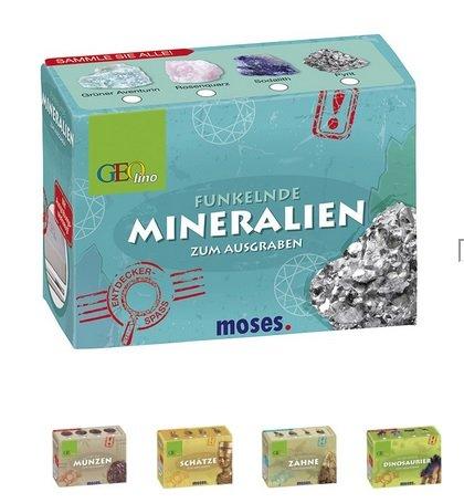 Moses 60025 Geolino Mini-Ausgrabungssets