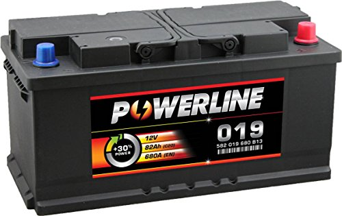 019 Powerline Autobatterie 12V