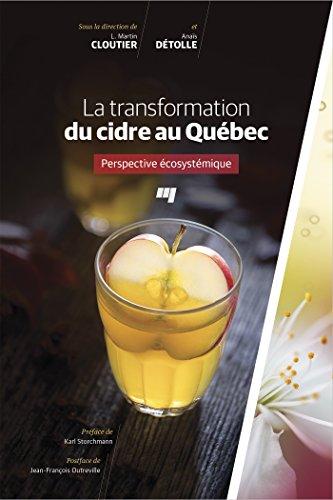 La transformation du cidre au Québec : Perspective écosystémique
