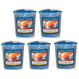 Yankee Candle - 5x November Rain Votive Samplers - NEW Scent for 2013!