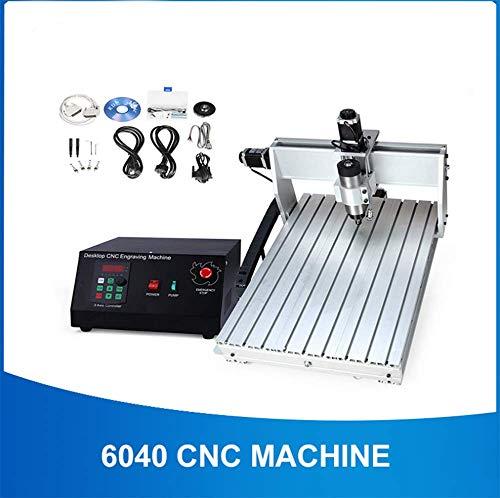 WANGYONGQI CNC 6040 2.2KW 3 achsen CNC Router CNC holzschnitzerei Maschine USB Mach3 Steuerung Holzbearbeitung Fräsen Graviermaschine mit Kühlung/Luft,800wwaterspindle -