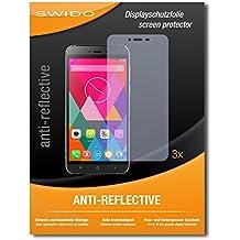 """3 x SWIDO® Protector de pantalla Cubot X10 Protectores de pantalla de película """"AntiReflex"""" antideslumbrante"""