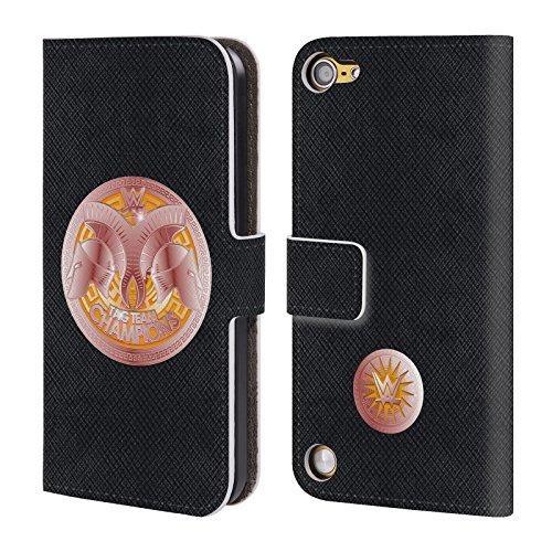 Ufficiale WWE Tag Team Champion Fascia Della Vittoria Cover a portafoglio in pelle per iPod Touch 5th Gen / 6th Gen