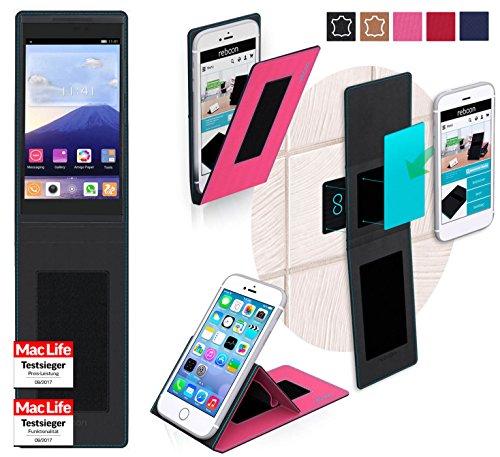 reboon Hülle für Gionee GPad G5 Tasche Cover Case Bumper | Pink | Testsieger