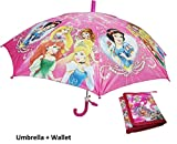 #5: Art box Special Material girlish print UMBRELLA For small Girls kid up to age 10 years approx 17 inch long